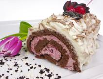 rolada wiśniowa poznań, ciasto wiśniowe poznań