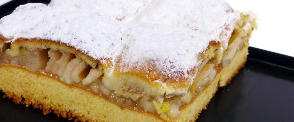 szarlotka poznań, ciasto z jabłkami poznań
