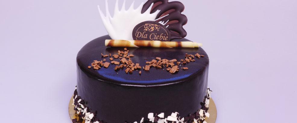 czekoladowy okragly