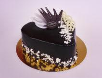 tort czekoladowy serce