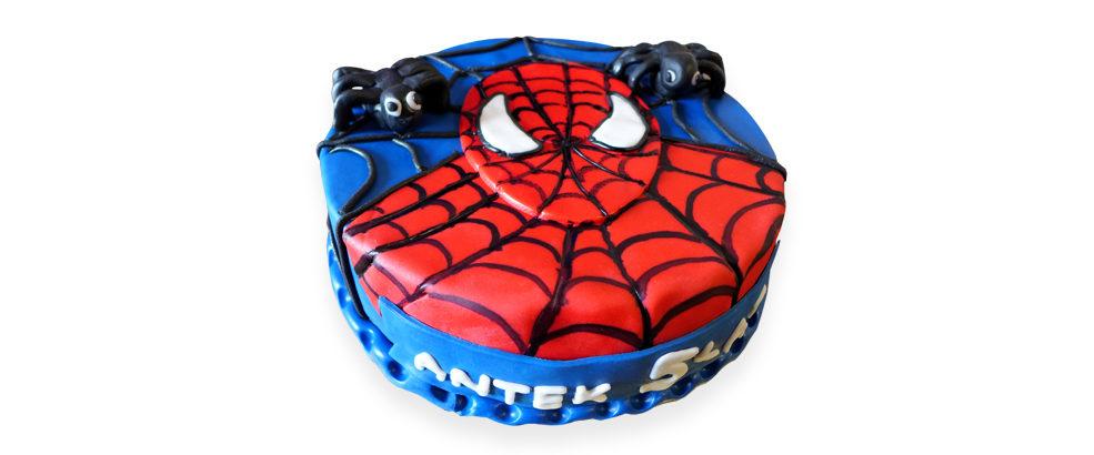 strona tort spiderman
