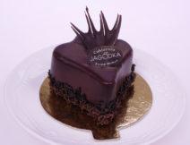 mini torcik czekolada z malina