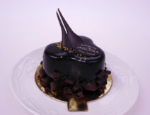 mini torciki czekoladowy z prażynką
