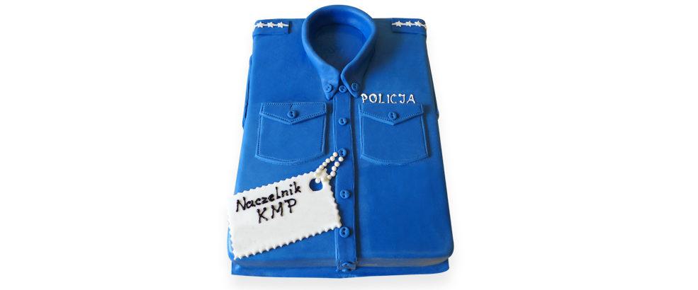 koszula policjant strona