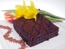 kostka czarna mamba poznań, ciasto z wiśniami poznań