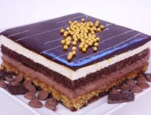 kostka czekoladowa z prażynką poznań