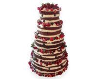 naked cake poznań wesele tort weselny