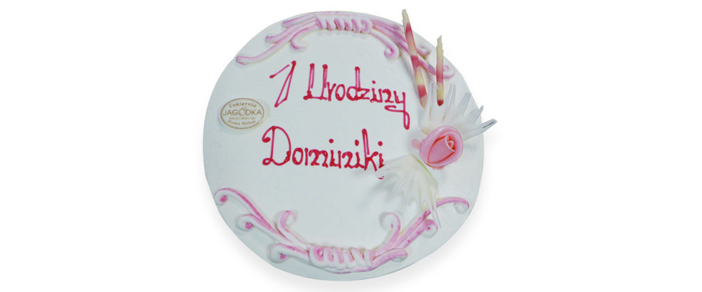 tort roczek poznań. tort urodziny poznań