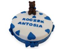 tort dla dzieci poznań, tort z misiem poznań
