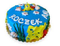 tort rybka dla dzieci
