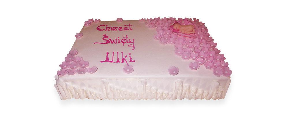 tort na chrzest poznań