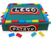 tort lego dla dzieci