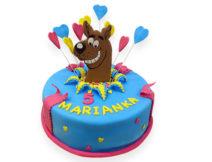 tort dla dzieci scooby doo