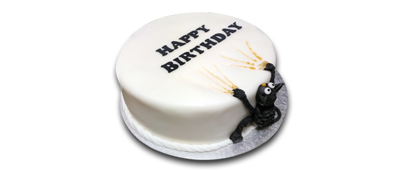 tort urodzinowy kot
