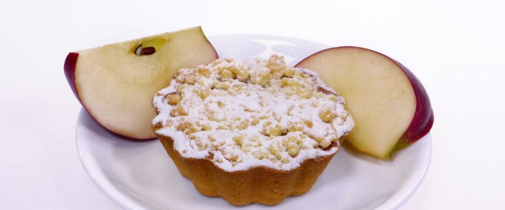 babeczka z jabłkiem mini szarlotka